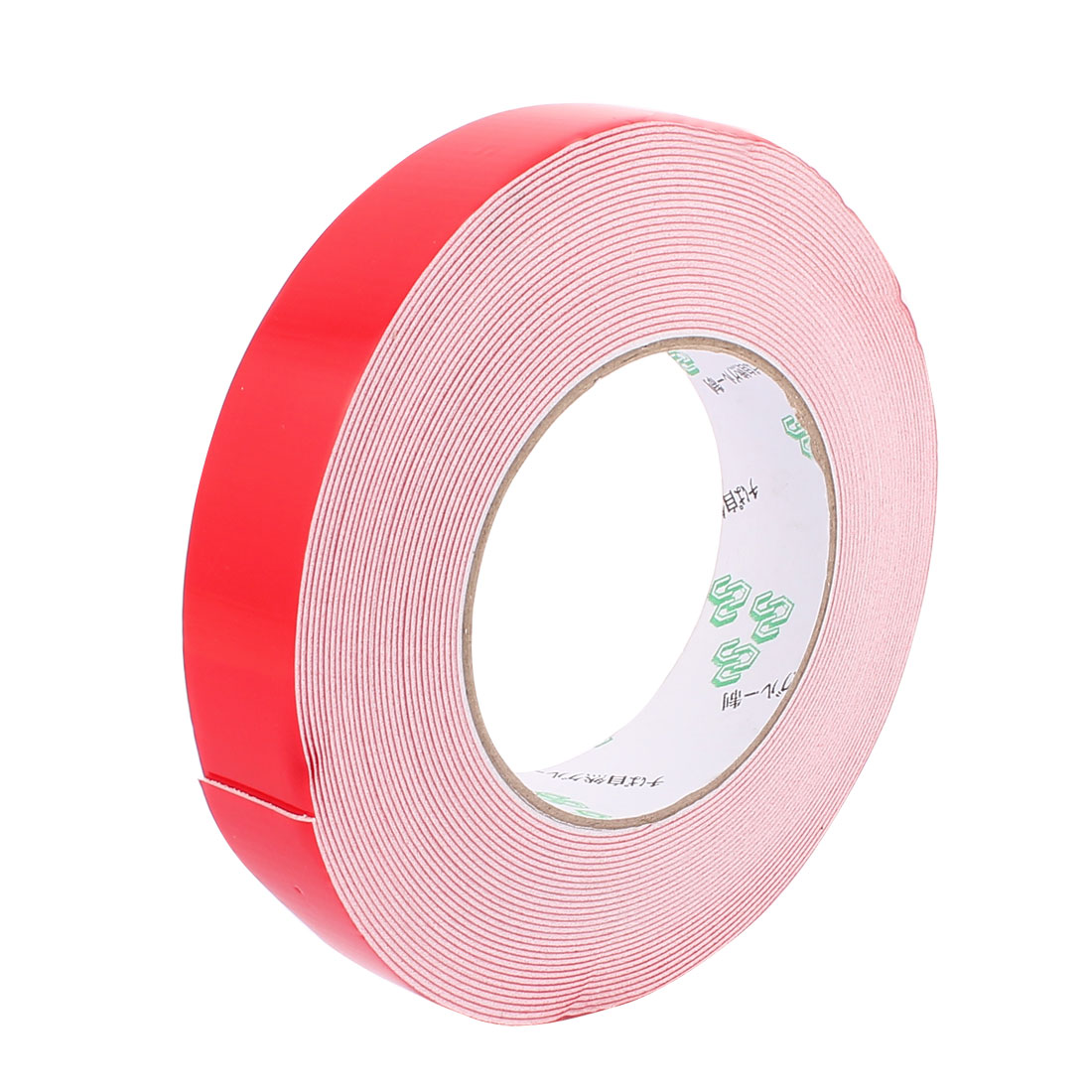 2.5CM Width 10M Length 1MM Thick White Dual Sided Waterproof Sponge Tape for Car