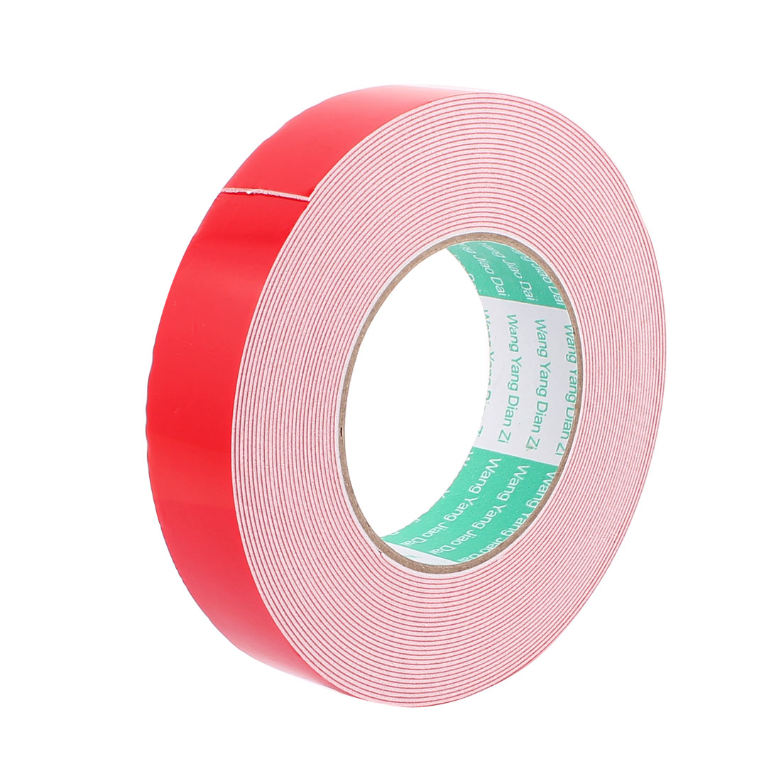 30MM Width 10M Long 1MM Thick White Dual Sided Waterproof Sponge Tape for Car