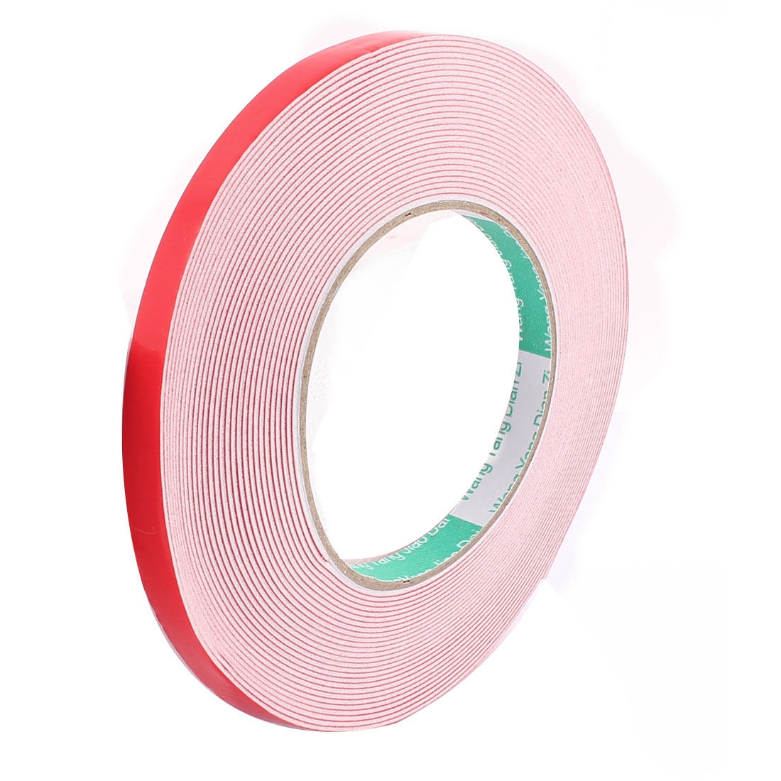 10MM Width 10M Length 1MM Thick White Dual Sided Waterproof Sponge Tape for Car