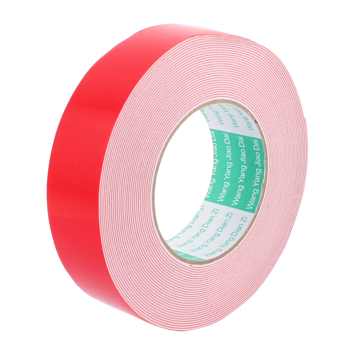 35MM Width 10M Long 1MM Thick White Dual Sided Waterproof Sponge Tape for Car