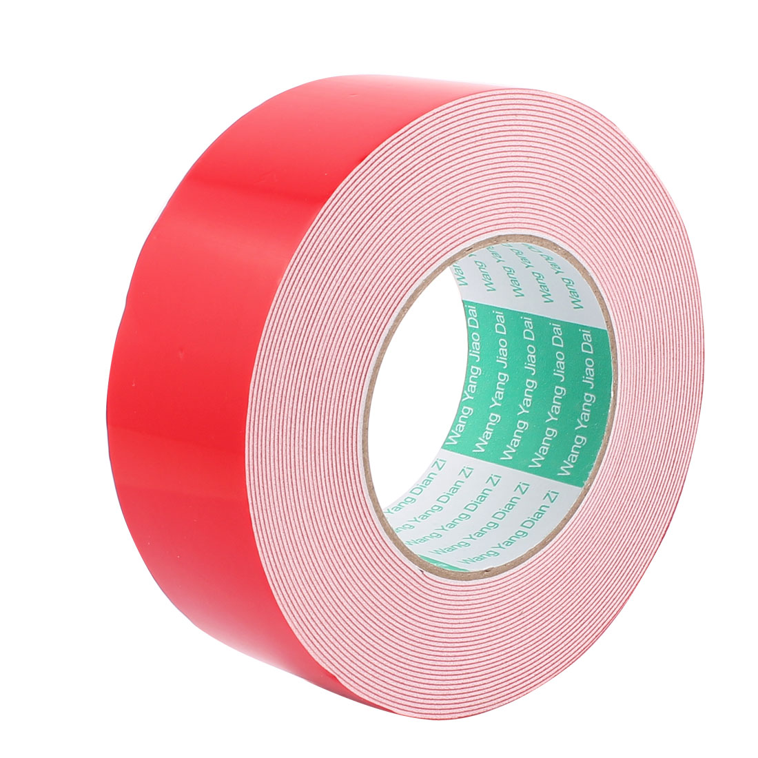 5CM Width 10M Long 1MM Thick White Dual Sided Waterproof Sponge Tape for Car