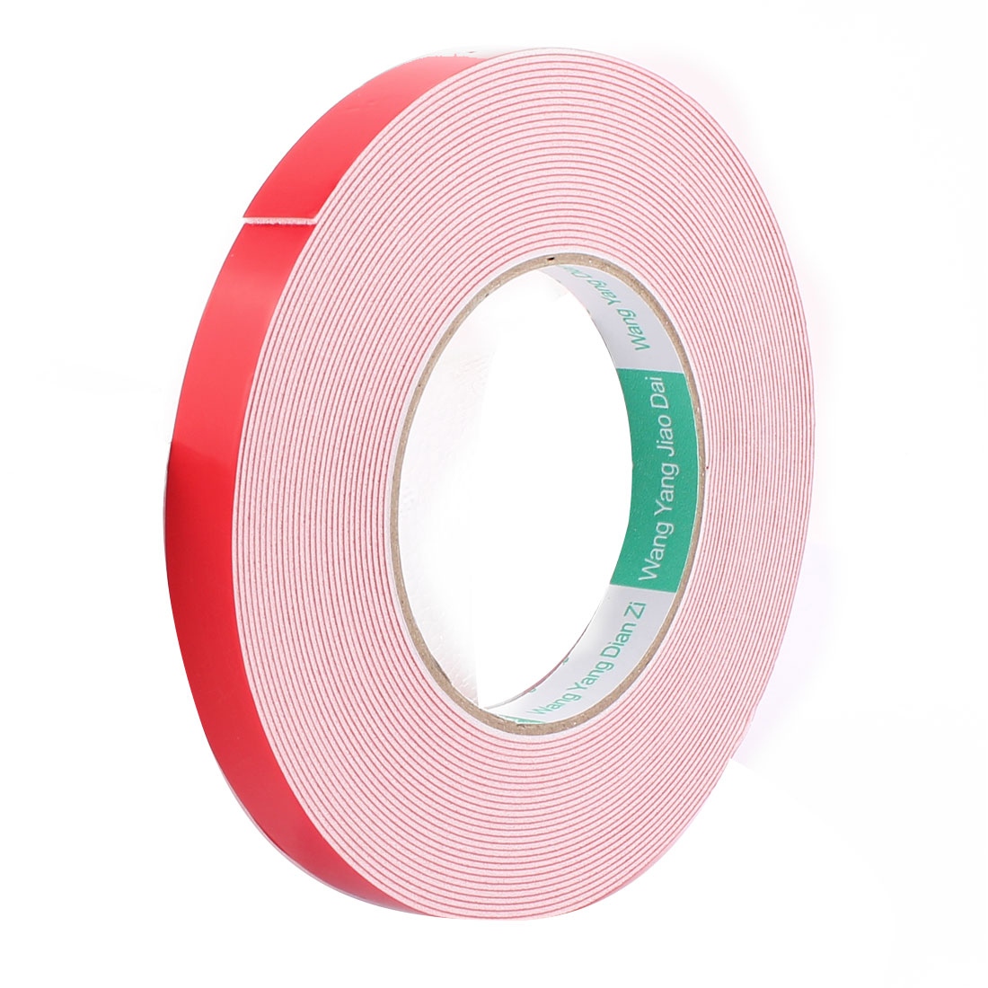 1.5CM Width 10M Long 1MM Thick White Dual Sided Waterproof Sponge Tape for Car