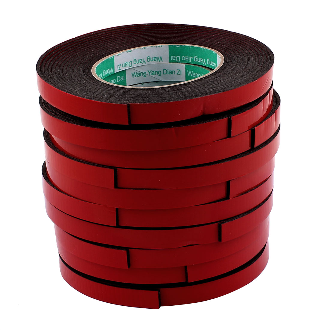 10 Pcs Black Strong Double Sided Adhesive Tape Sponge Tape 12MM Width 5M Long