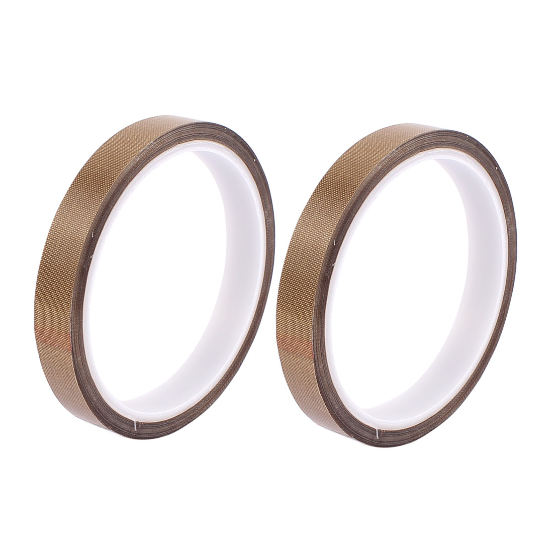 2pcs 12mm Width 10M Length Nonstick High Temperature PTFE Adhesive Tape