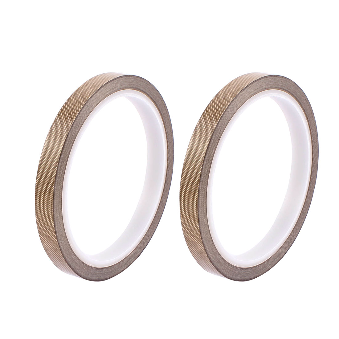 2pcs 0.18mm x 10mm Nonstick High Temperature PTFE Adhesive Tape 10M Long