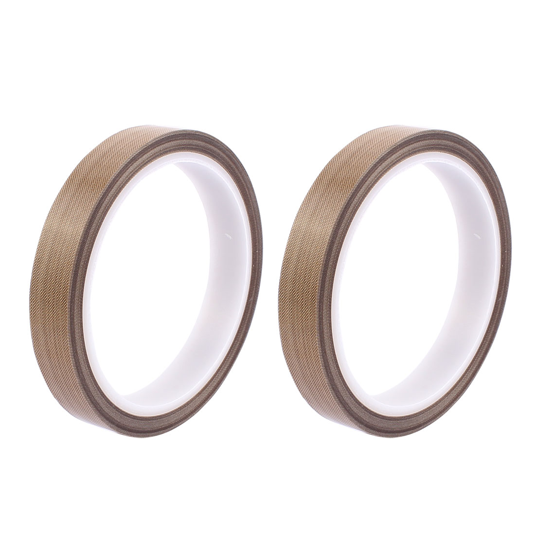 2pcs 0.18mm x 12mm Nonstick High Temperature PTFE Adhesive Tape 10M Length