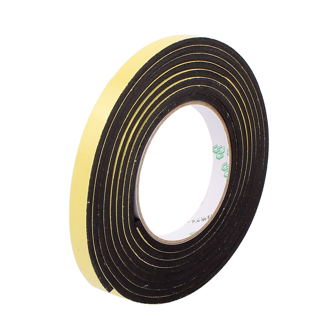 1CM Width 3 Meters Length 4MM Thick Single Sided Sealing Shockproof EVA Sponge Tape