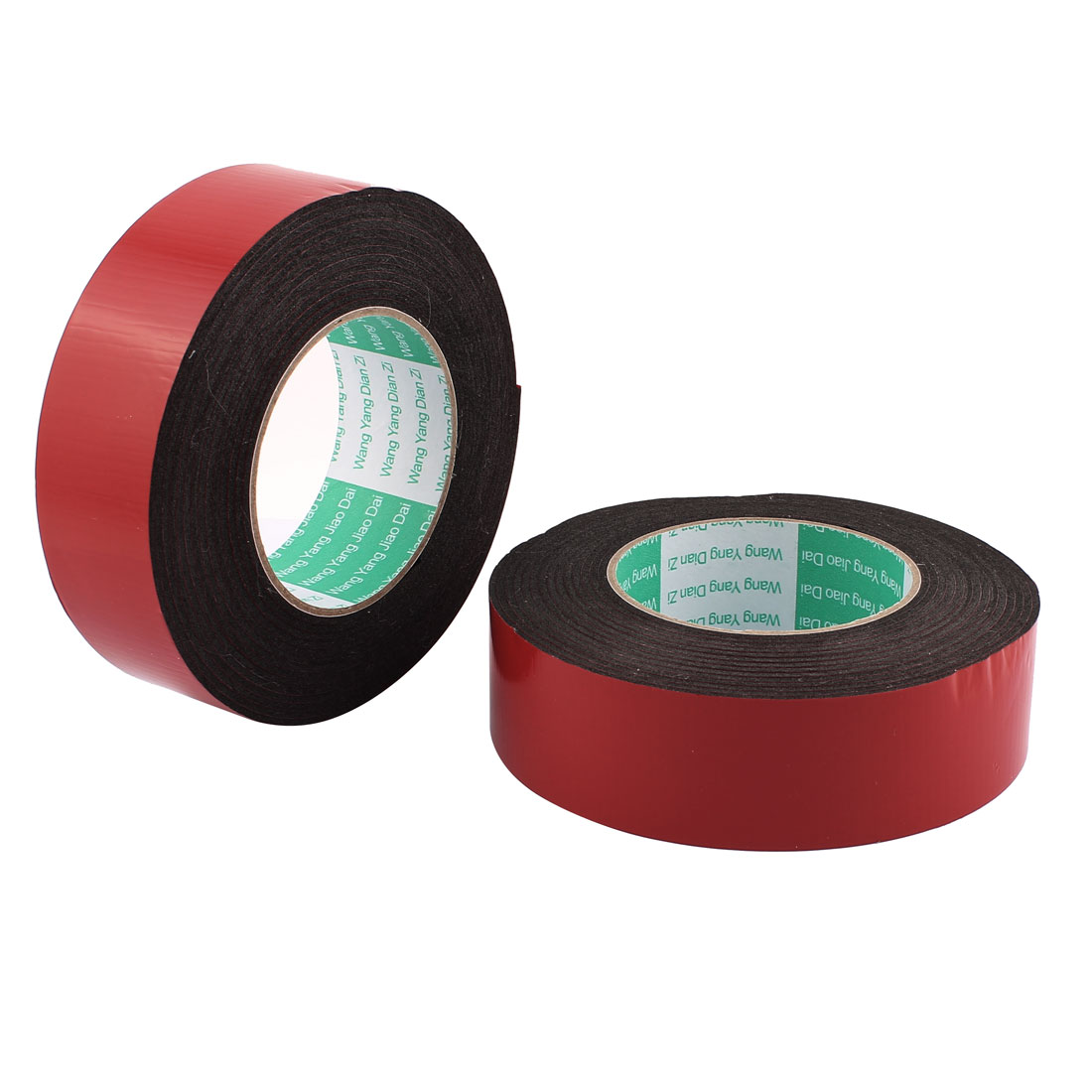 2Pcs 4CM Width 5M Length 2MM Thick Dual Sided Sealing Shockproof Sponge Tape