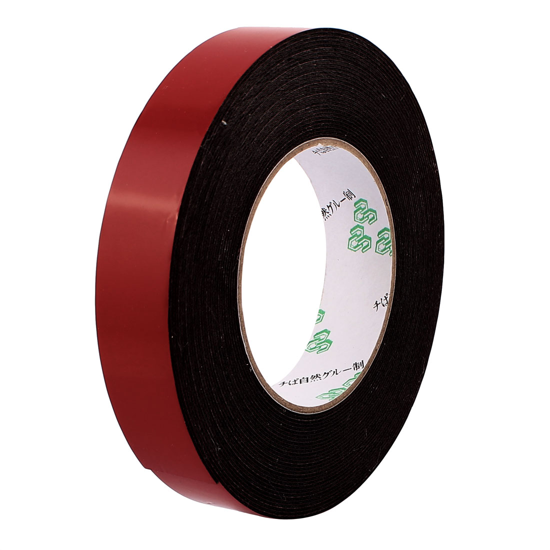 2.5CM Width 10M Length 1MM Thick Dual Sided Sealing Shockproof Sponge Tape