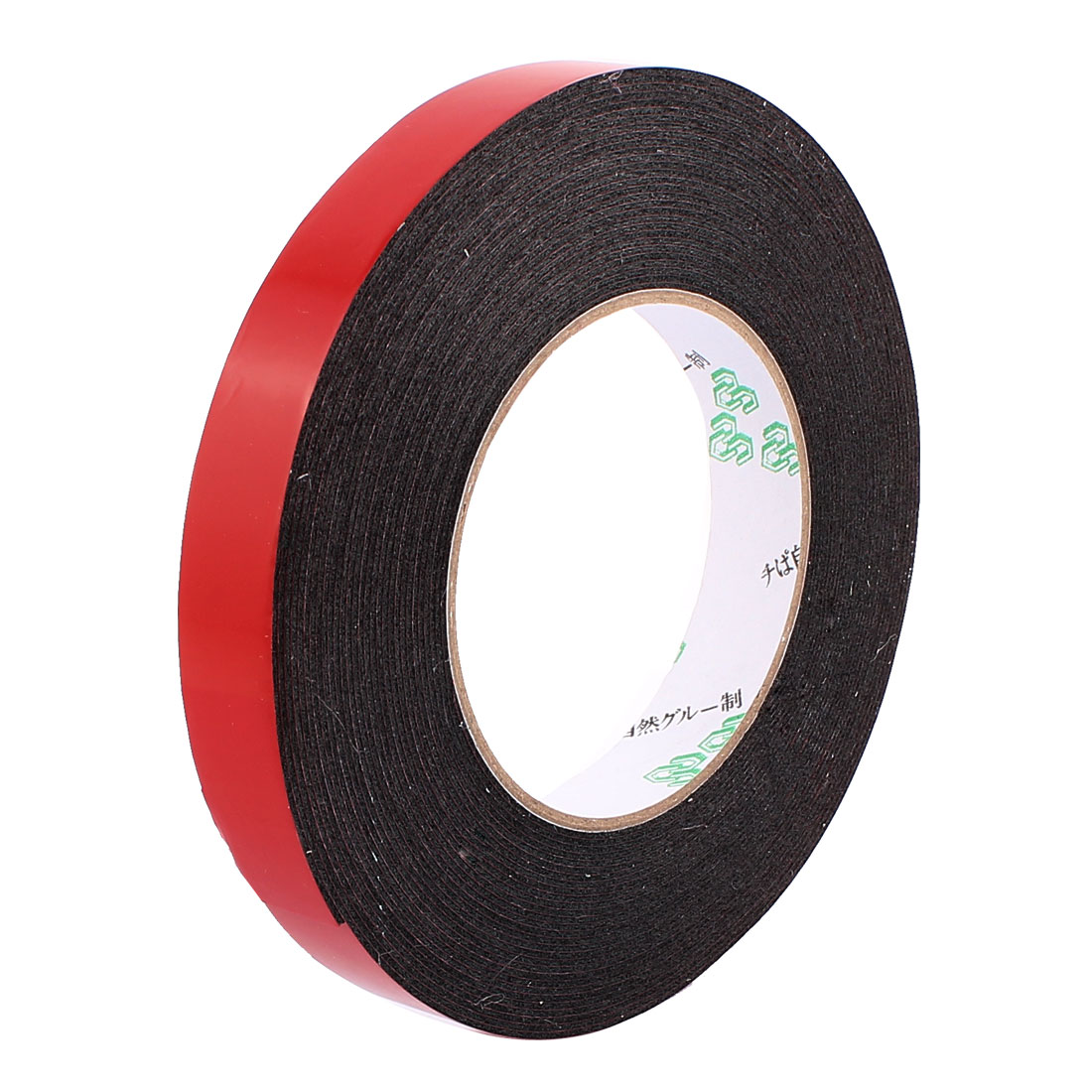 1.8CM Width 10M Length 1MM Thick Dual Sided Sealing Shockproof Sponge Tape