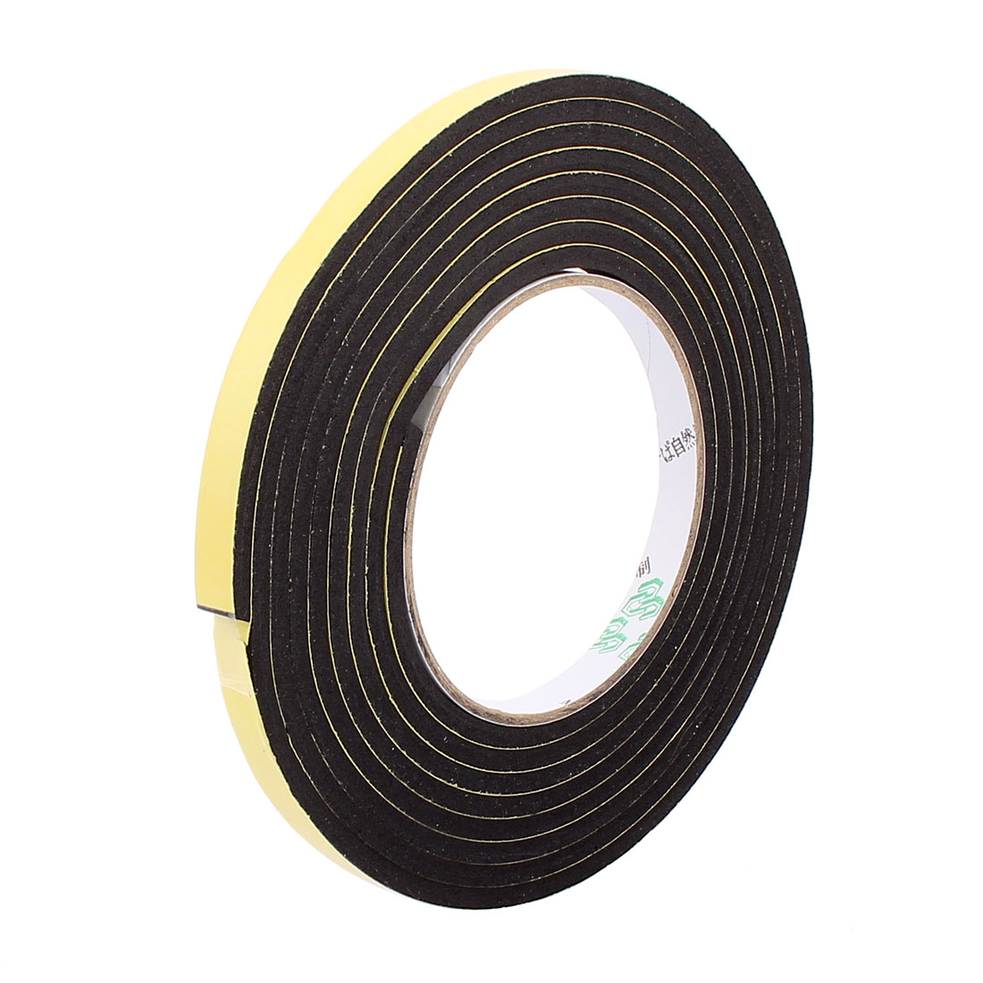 1CM Width 3 Meters Length 4MM Thick Single Sided Sealing Shockproof Sponge Tape