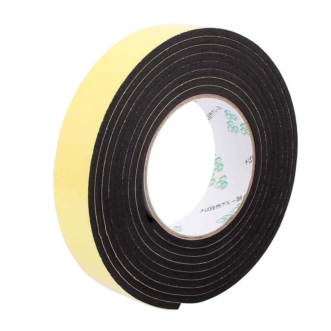 3CM Width 3 Meters Long 4MM Thick Single Sided Sealing Shockproof Sponge Tape