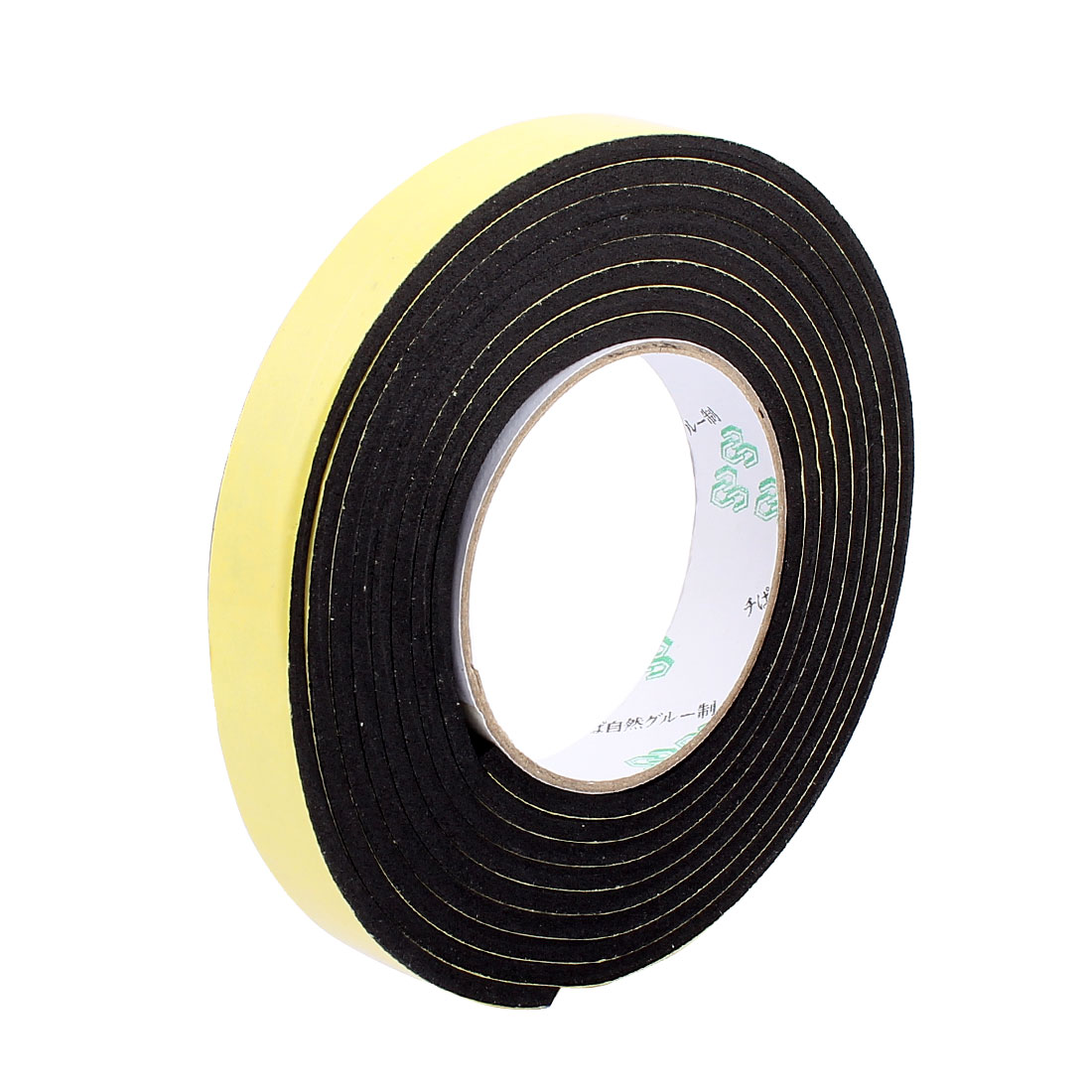 2CM Width 3 Meters Length 4MM Thick Single Sided Sealing Shockproof Sponge Tape