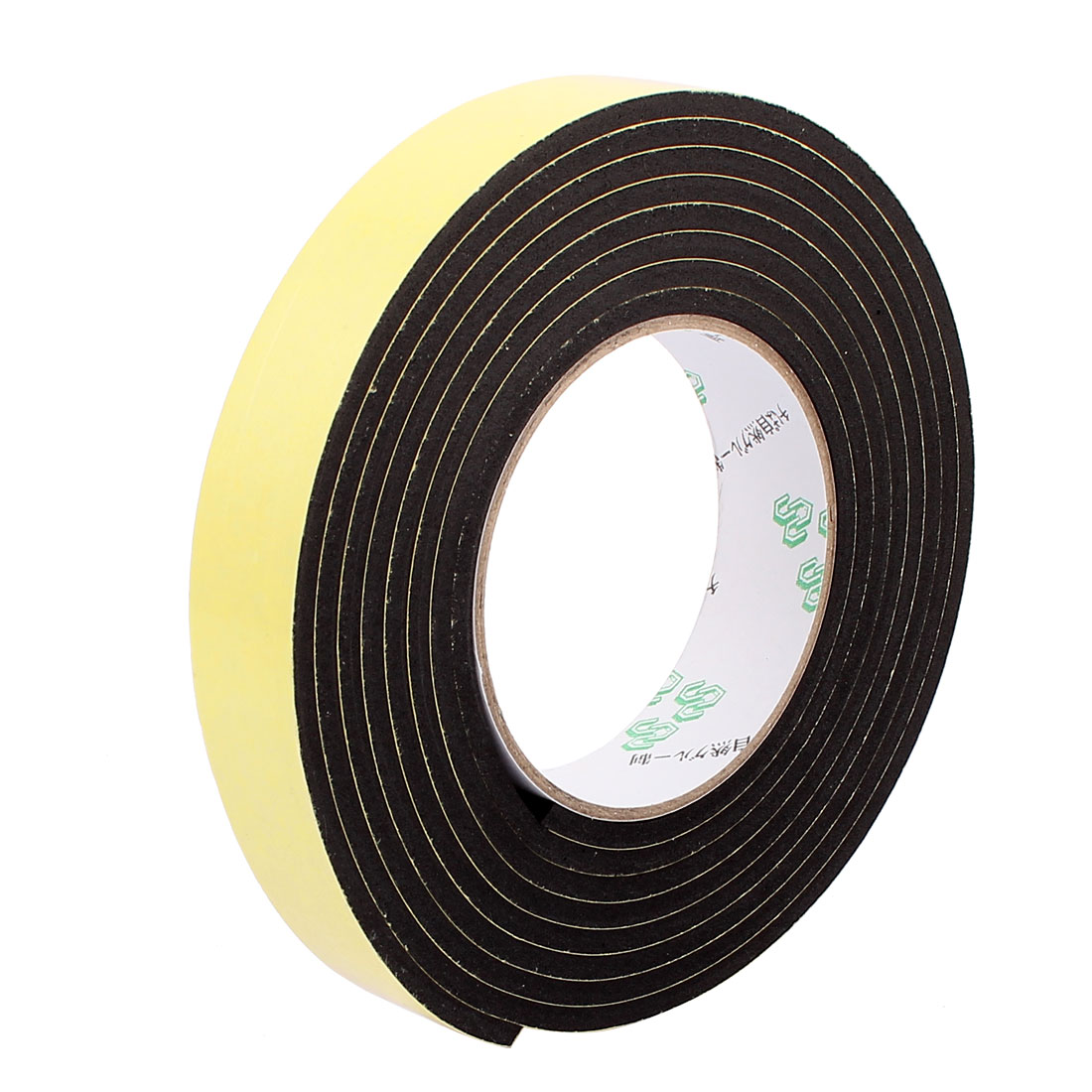2.5CM Width 3 Meters Length 4MM Thick Single Sided Sealing Shockproof Sponge Tape