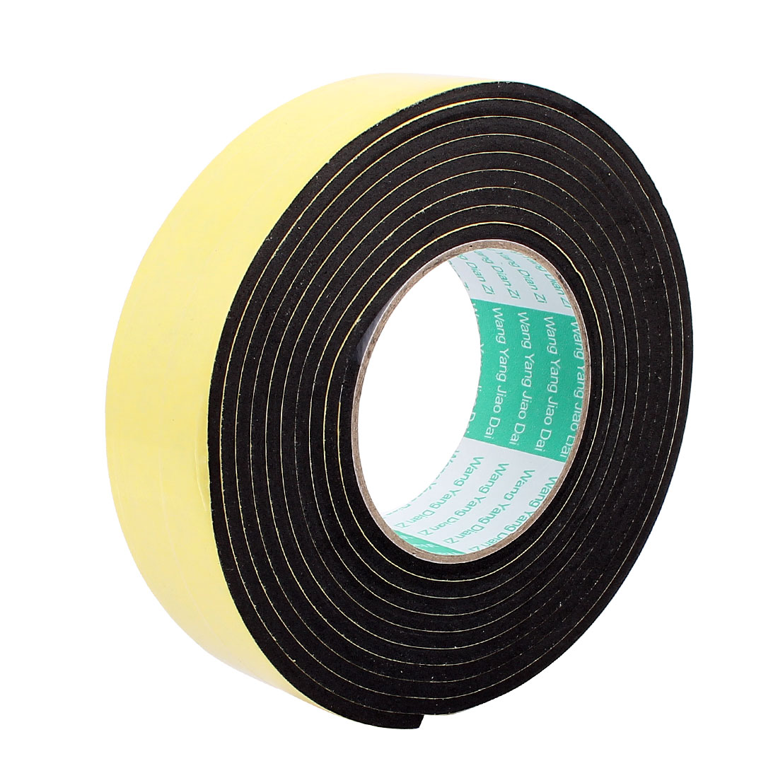 4CM Width 3 Meters Long 4MM Thick Single Sided Sealing Shockproof Sponge Tape