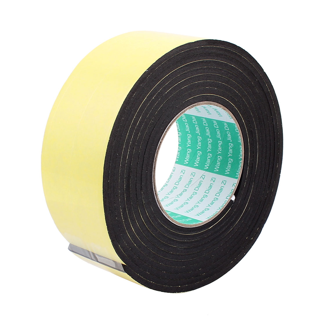 6CM Width 3 Meters Long 4MM Thick Single Sided Sealing Shockproof Sponge Tape