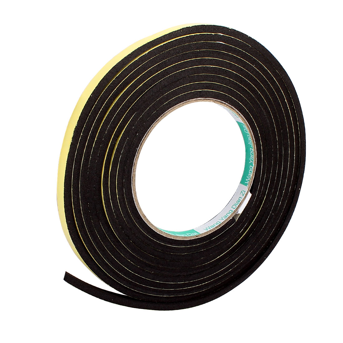 0.8CM Width 3.5Meters Long 4MM Thick Single Sided Sealing Shockproof Sponge Tape