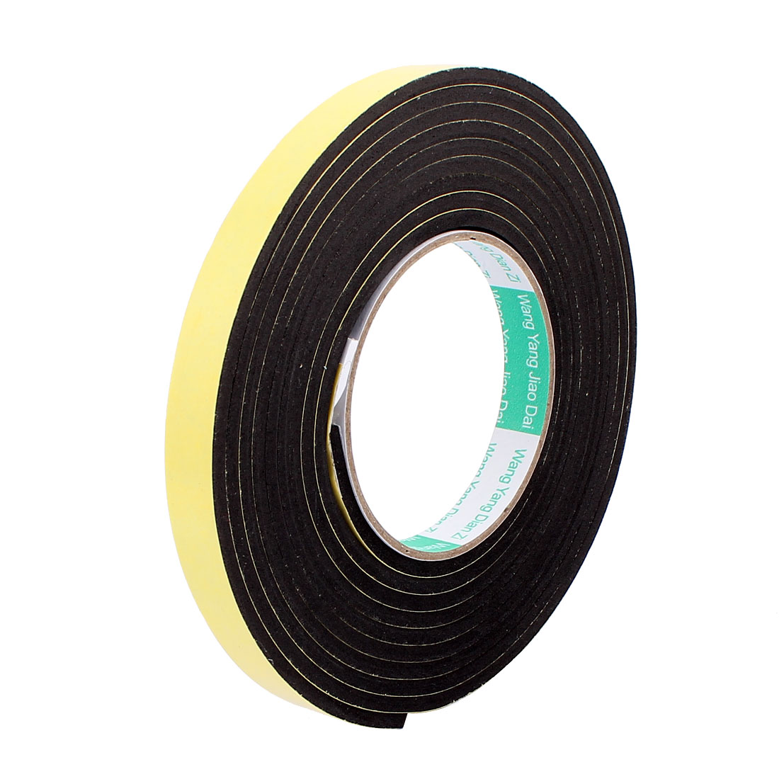1.5CM Width 3 Meters Length 4MM Thick Single Sided Sealing Shockproof Sponge Tape