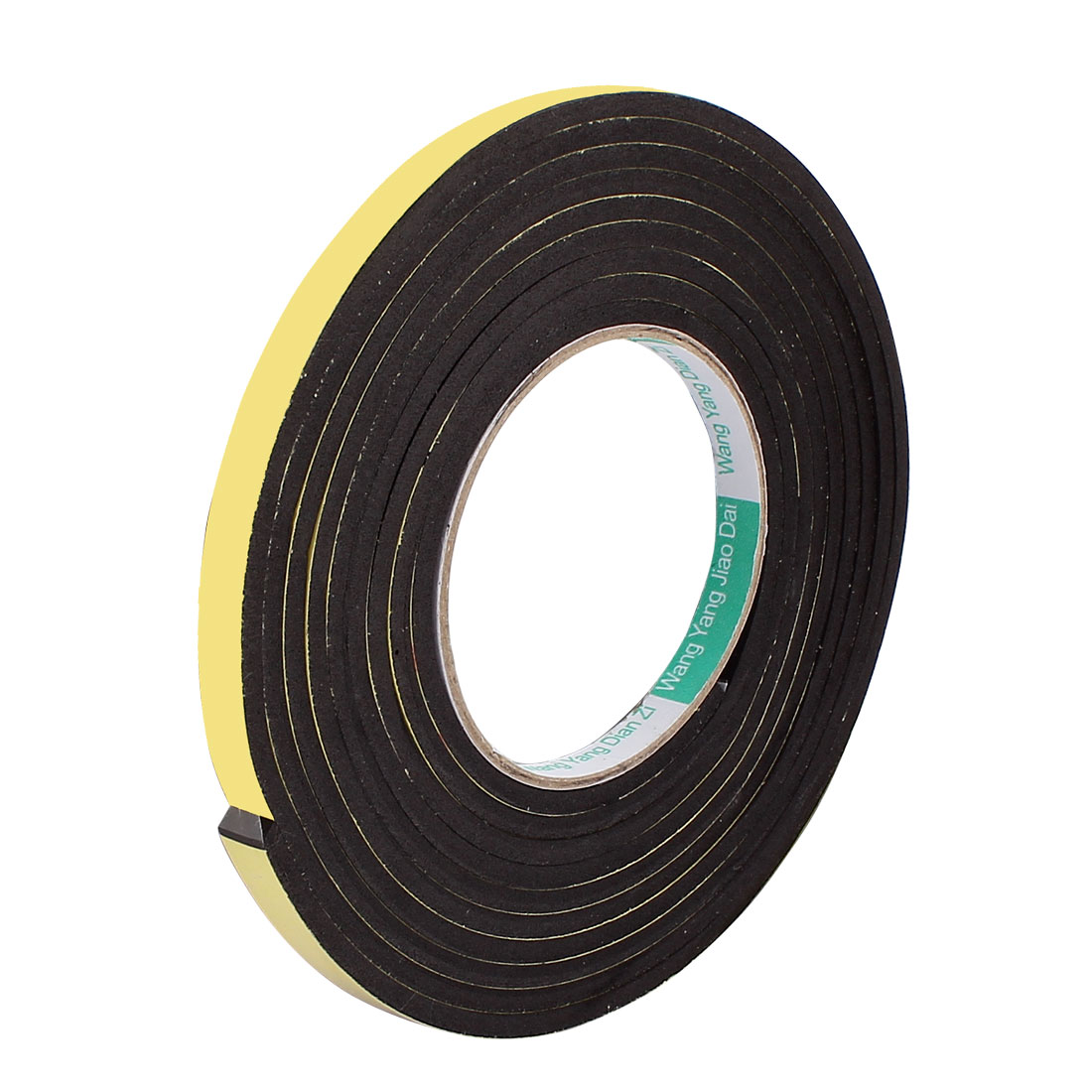 10mmx4mm Single Sided Sponge Tape Adhesive Sticker Foam Glue Strip Sealing 3 Meters 10Ft