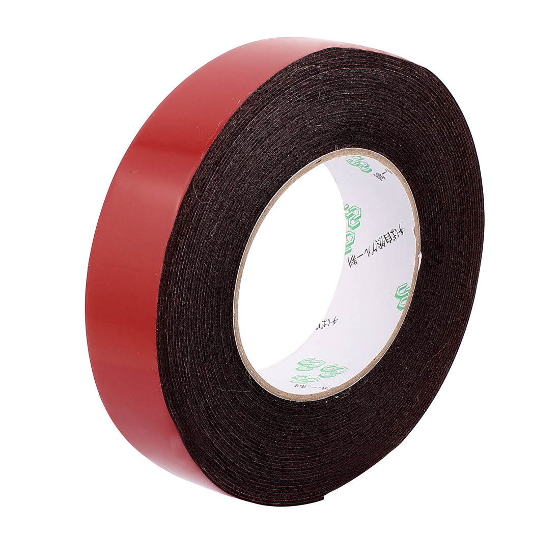 30mmx1mm Double Sided Sponge Tape Adhesive Sticker Foam Glue Strip Sealing 10 Meters 33Ft