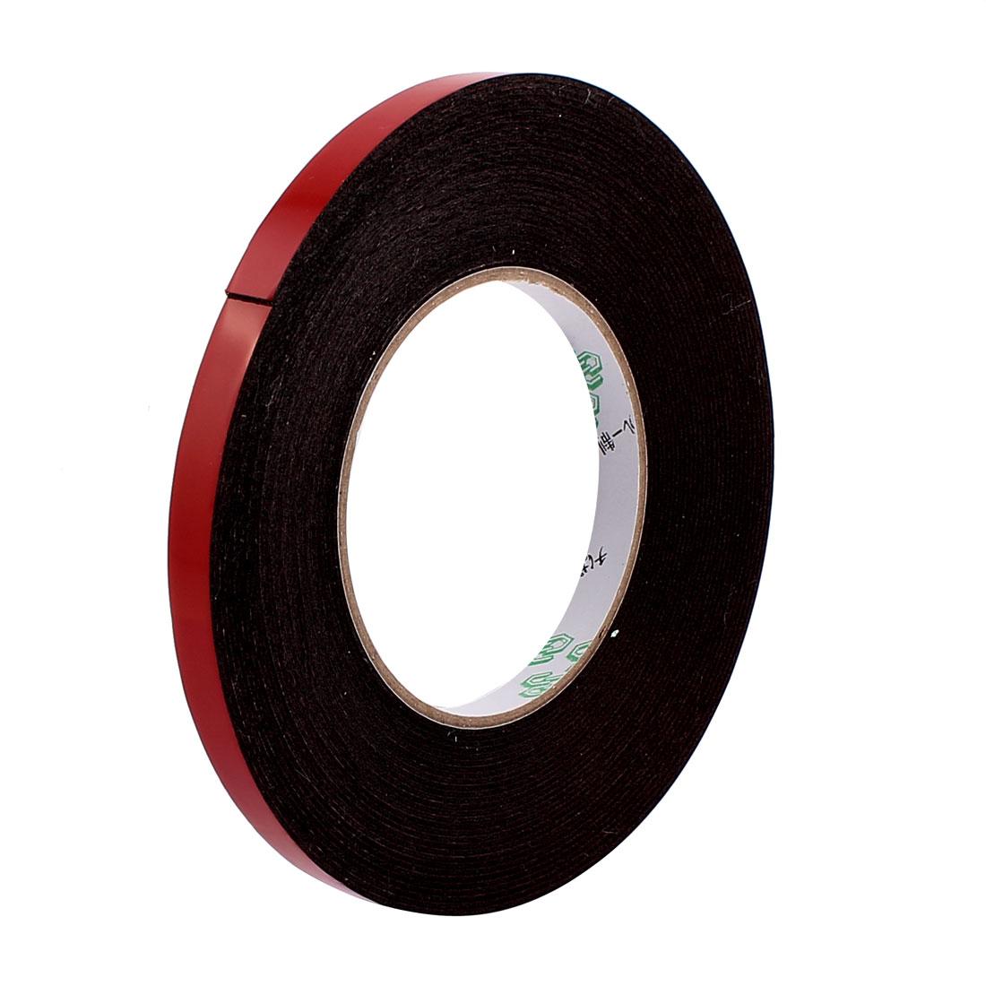 10mmx1mm Double Sided Sponge Tape Adhesive Sticker Foam Glue Strip Sealing 10 Meters 33Ft