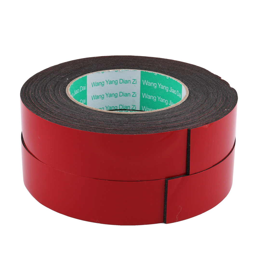 2pcs 30mm x 2mm Double Sided Sponge Tape Adhesive Sticker Shockproof Tape 5M