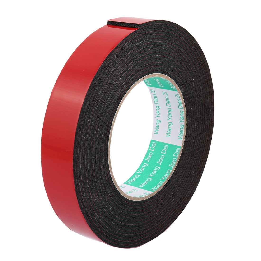 2.5CM Width 5 Meters Length 2MM Thick Dual Sided Sealing Shockproof Sponge Tape