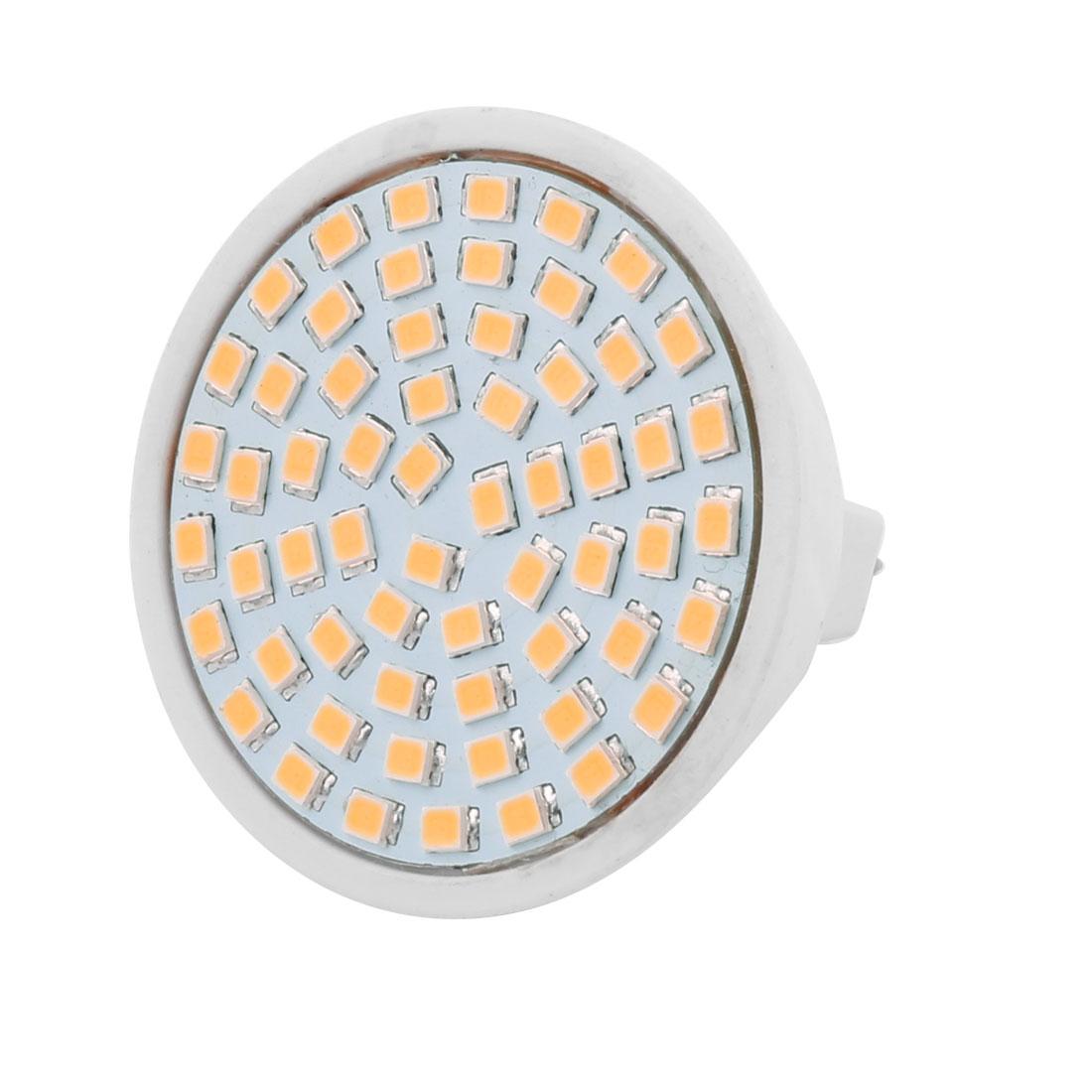 DC 12V 4W MR16 3528 SMD 60 LEDs LED Bulb Light Spotlight Lamp Lighting Warm White