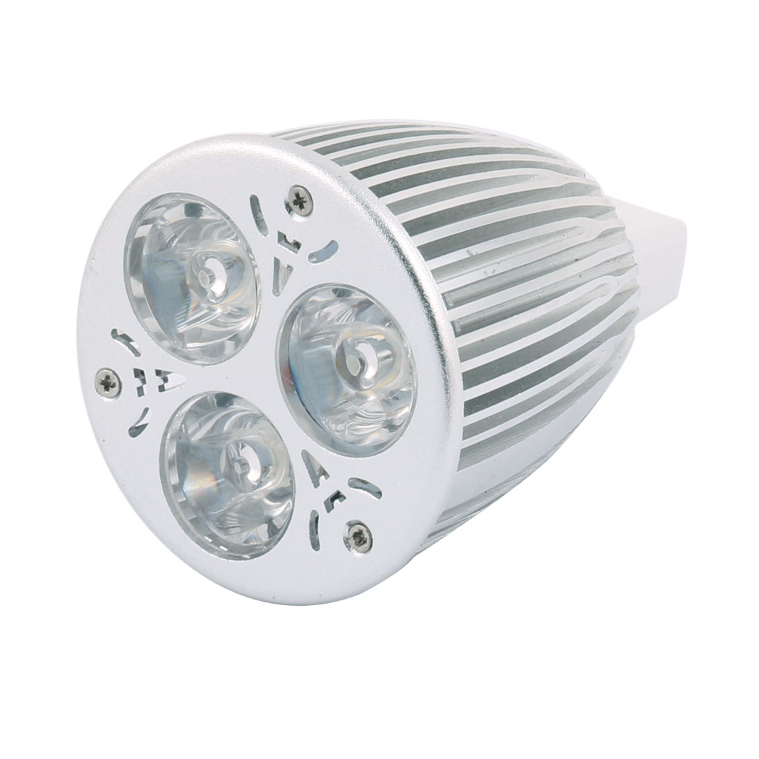 DC 12V 9W MR16 3 LEDs Ultra Bright COB Spotlight Bulb Energy Saving Downlight Warm White