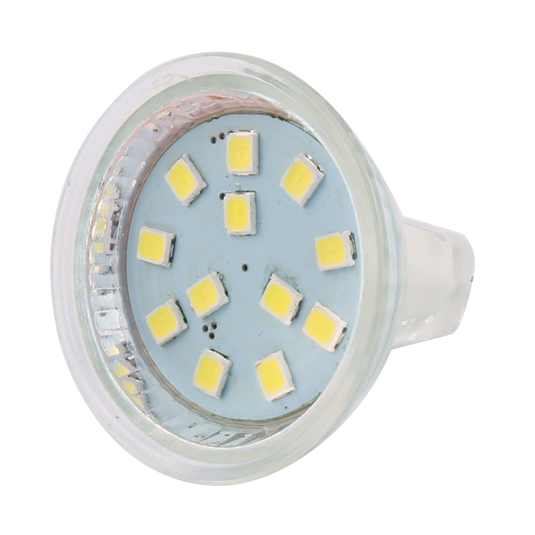 12-30V 2W MR11 2835 SMD 12 LEDs LED Bulb Light Spotlight Lamp Lighting Cool White