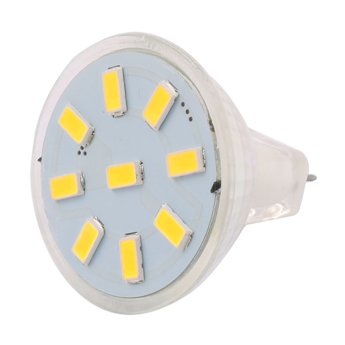 DC 12V 2W MR11 5733 SMD 9 LEDs LED Bulb Light Spotlight Lamp Lighting Cool White