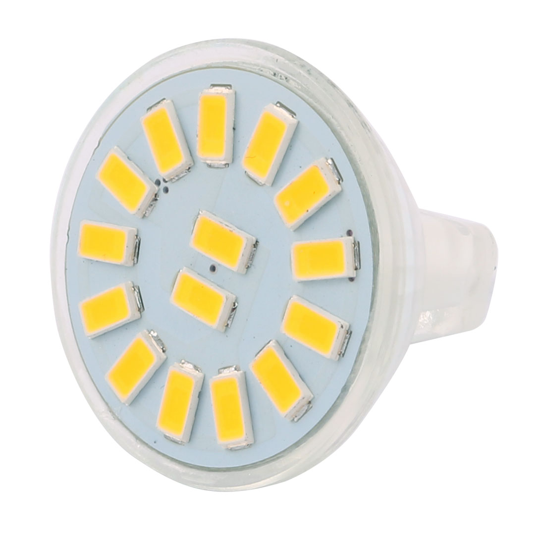DC 12V 4W MR11 5733 SMD 15 LEDs LED Bulb Light Spotlight Lamp Lighting Cool White