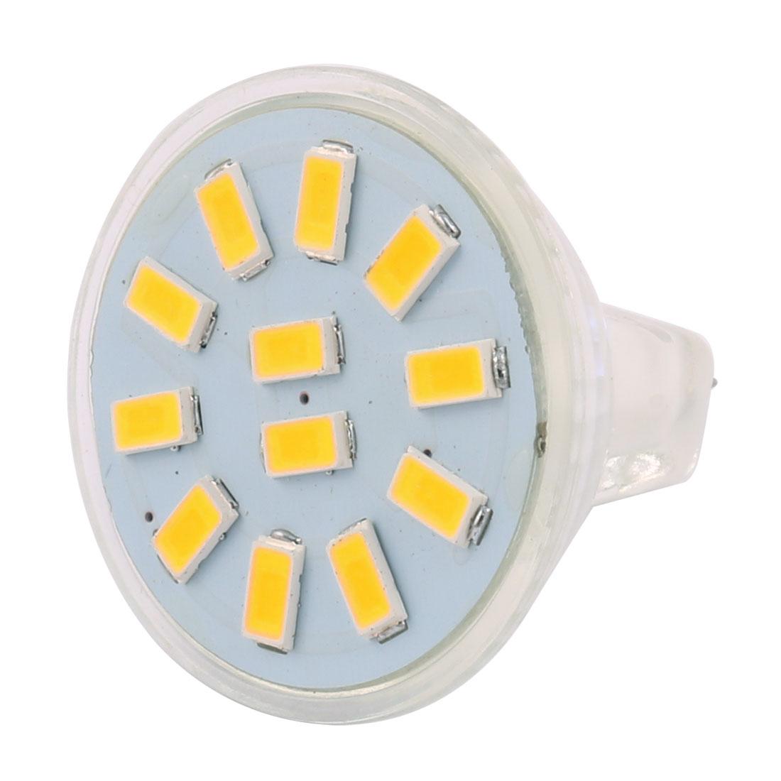 12-30V 3W MR11 5730 SMD 12 LEDs LED Bulb Light Spotlight Lamp Lighting Cool White