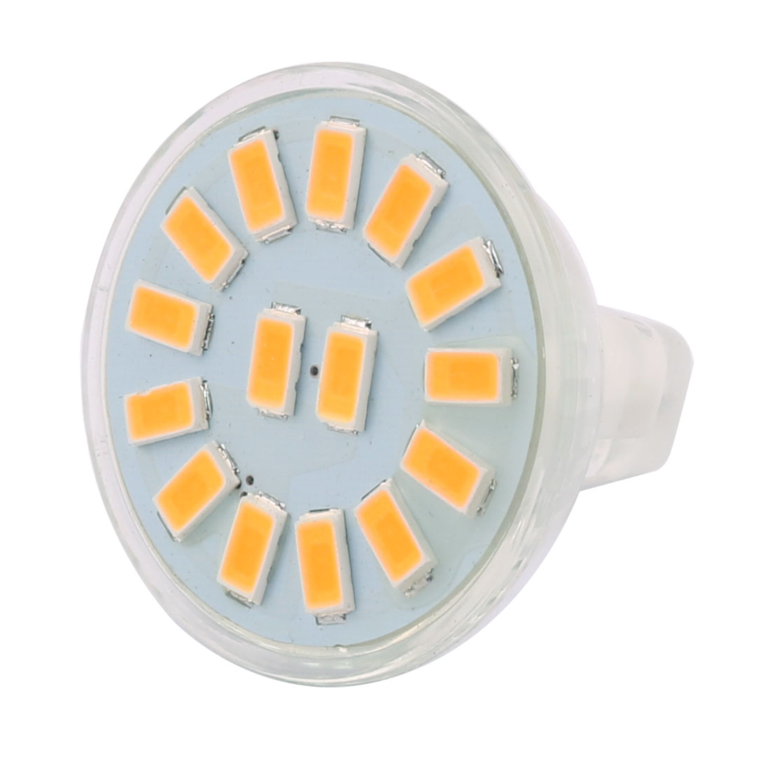 12-30V 5W MR11 5730 SMD 15 LEDs LED Bulb Light Spotlight Lamp Lighting Warm White