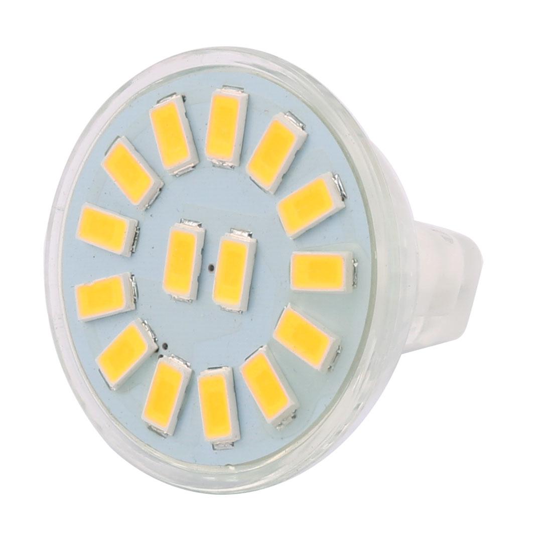 12-30V 5W MR11 5730 SMD 15 LEDs LED Bulb Light Spotlight Lamp Lighting Cool White
