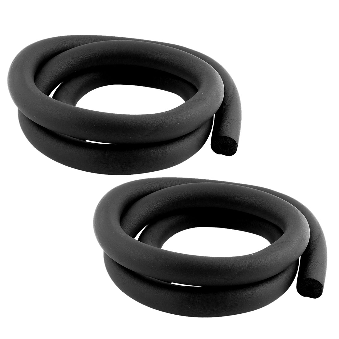 6mm x 15mm x 1.9m Heat Isolating Foam Hose Pipe for Air Conditioner 2Pcs