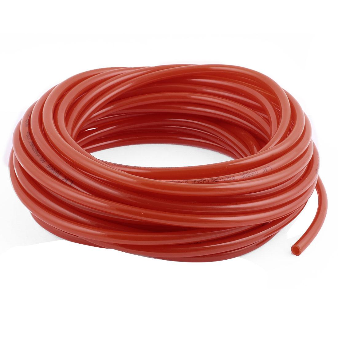 Polyurethane Flexible Air Tubing Pneumatic Hose Tube Orange 8 x 5mm x 15M