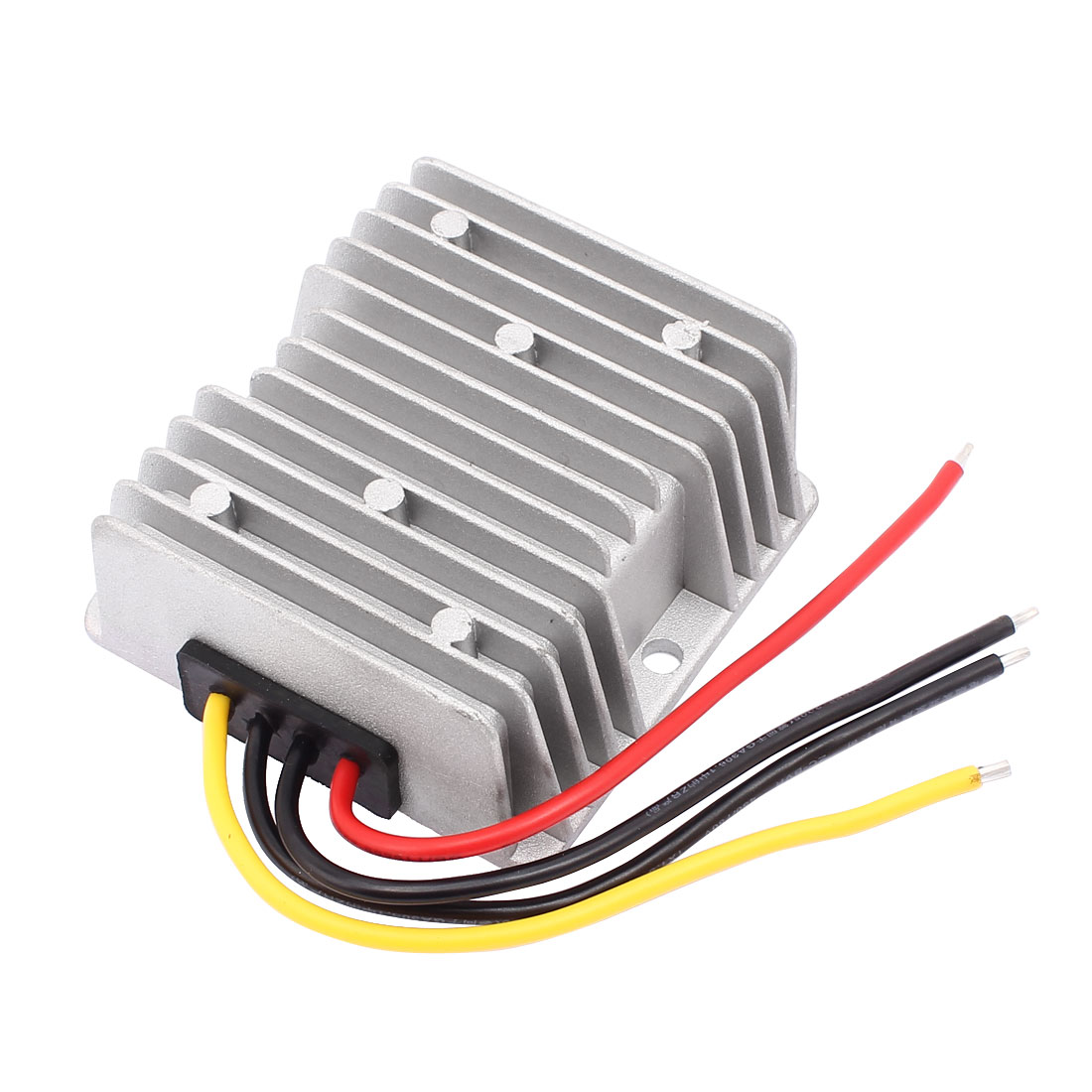 DC12V(10V-36V) to DC12V 4A 48W Booster Waterproof Car Power Converter Regulator Transformer