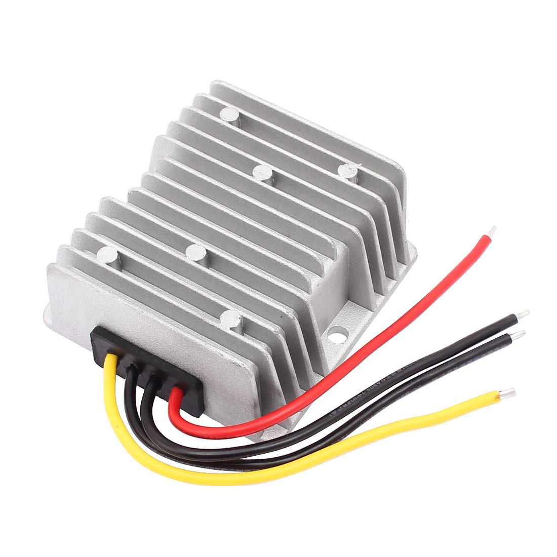DC12V(6V-20V) to DC12V 12A 144W Booster Waterproof Car Power Converter Regulator Transformer