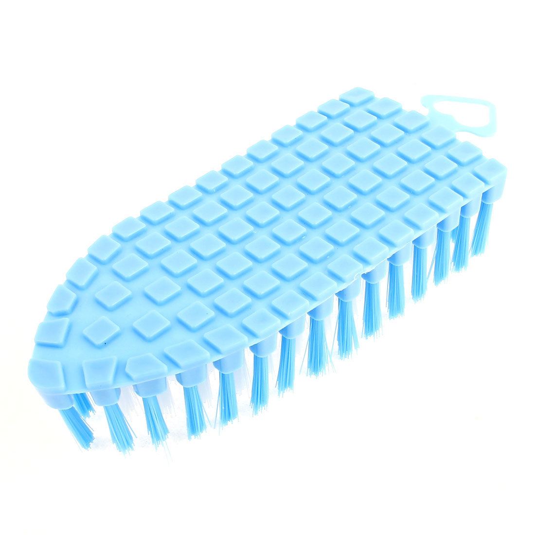 156 x 65mm Household Bendable Brush for Daily Commode Cleaning Blue