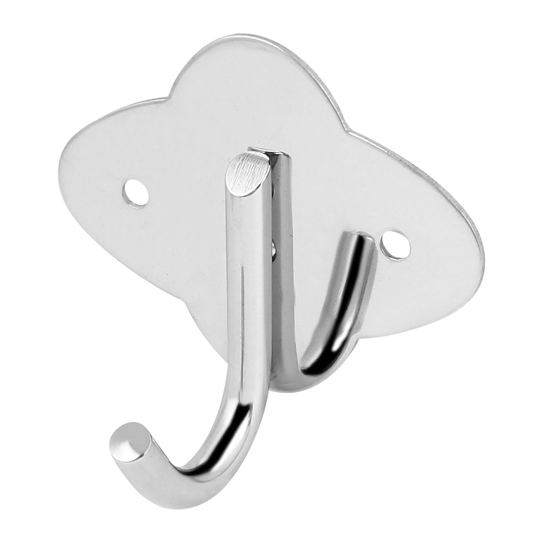Bedroom Clothes Coat Single Hanger Stainless Steel Wall Mount Hanging Hook