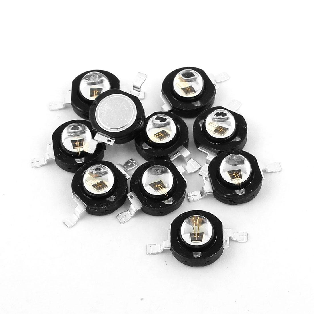 10 Pcs High Power 850 Nano IR Infrared LED Diode SD-DR4201C8 For CCTV Camera
