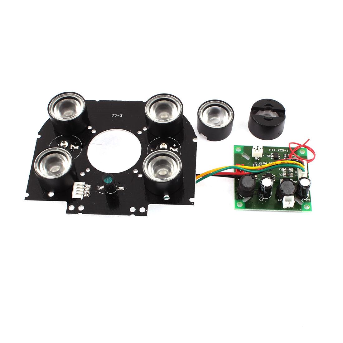 Array 6 High Power Infrared IR LED Light Board Module For CCTV Camera