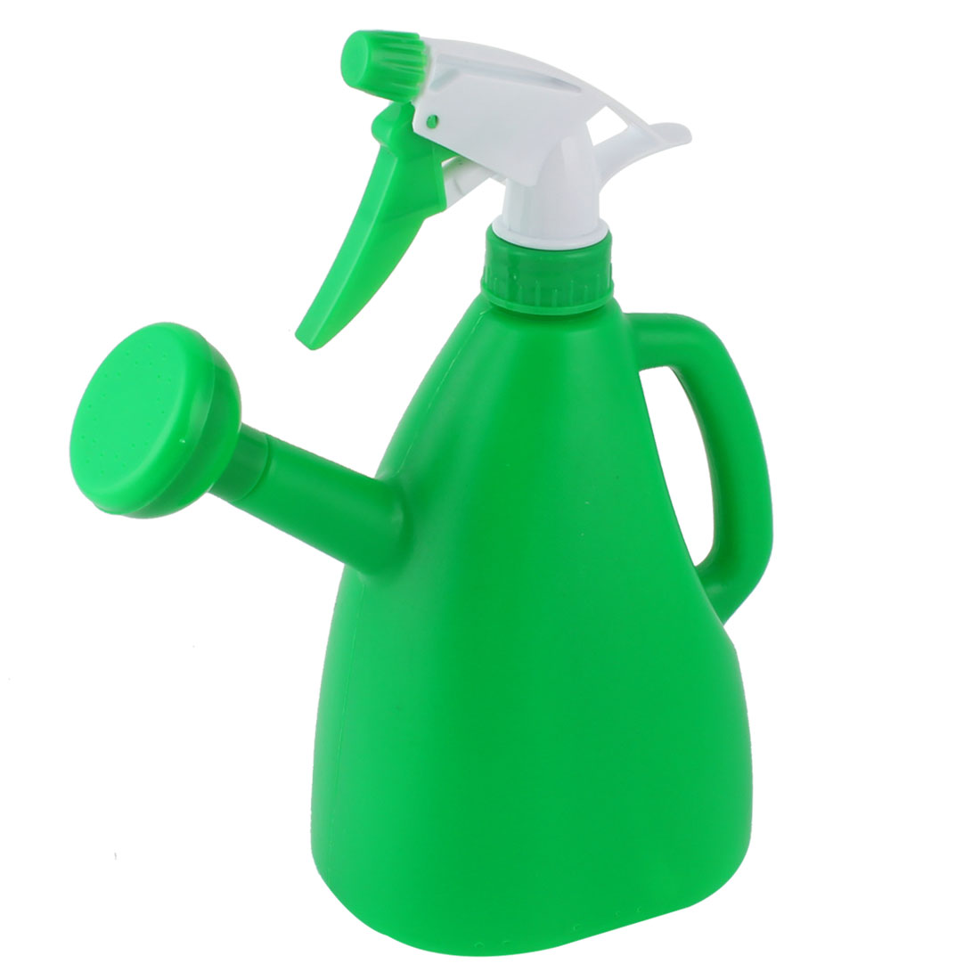 Garden Flower Plant Plastic Dual Purpose Double-end Trigger Spray Water Bottle Green 890ml