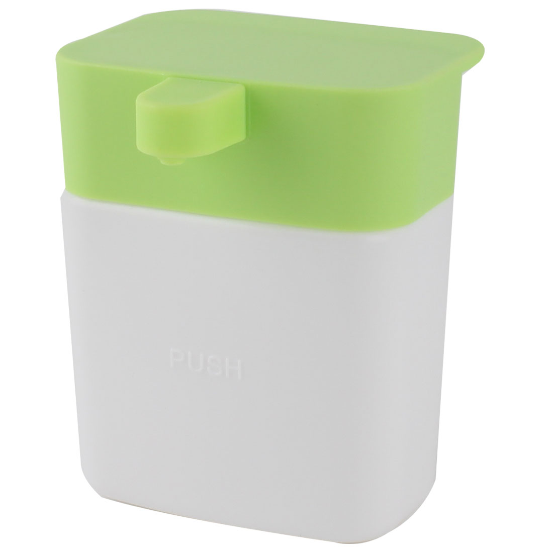 Household Kitchen Plastic Dishwashing Liquid Suction Cup Storage Box Holder Green 200ml