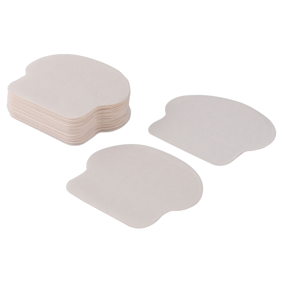 Disposable Unisex Armpit Underarm Deodorant Absorb Sweat Pad Sticker White 20pcs