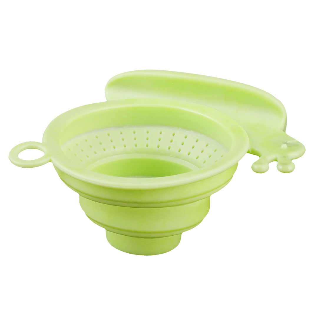 Household Silicone Snail Design Basin Sink Floor Drainer Strainer Stopper Light Green
