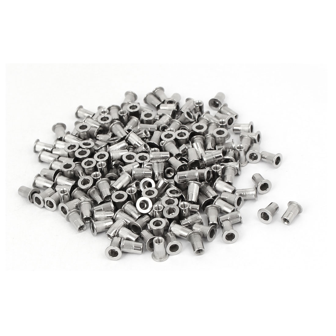 M3 x 0.5mm 304 Stainless Steel Knurled Rivet Nut Insert Nutsert 200PCS