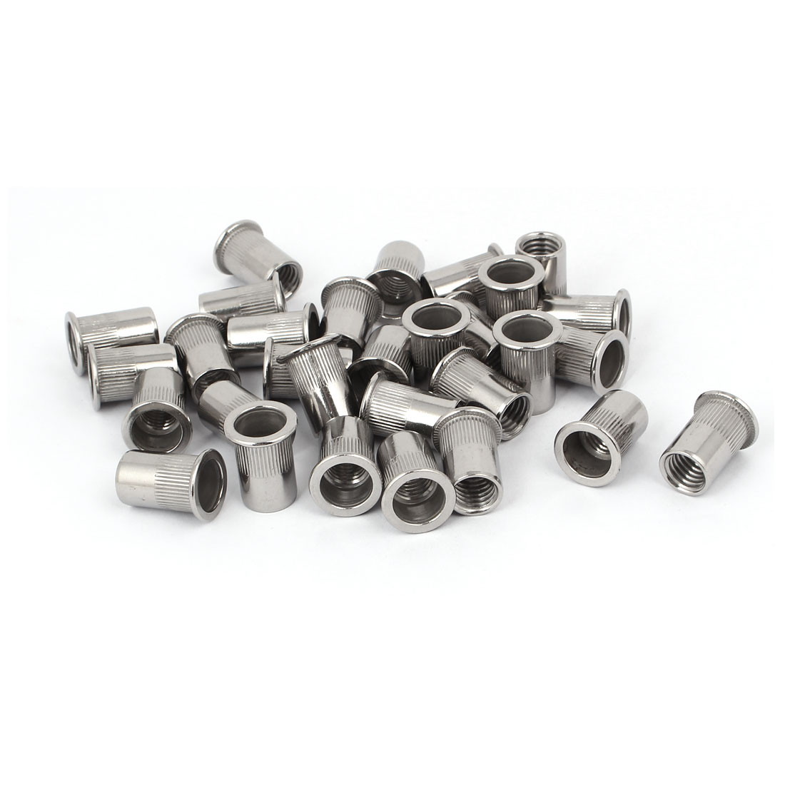 M12 x 1.75mm 304 Stainless Steel Rivet Nut Embedded Insert Nutsert 30PCS