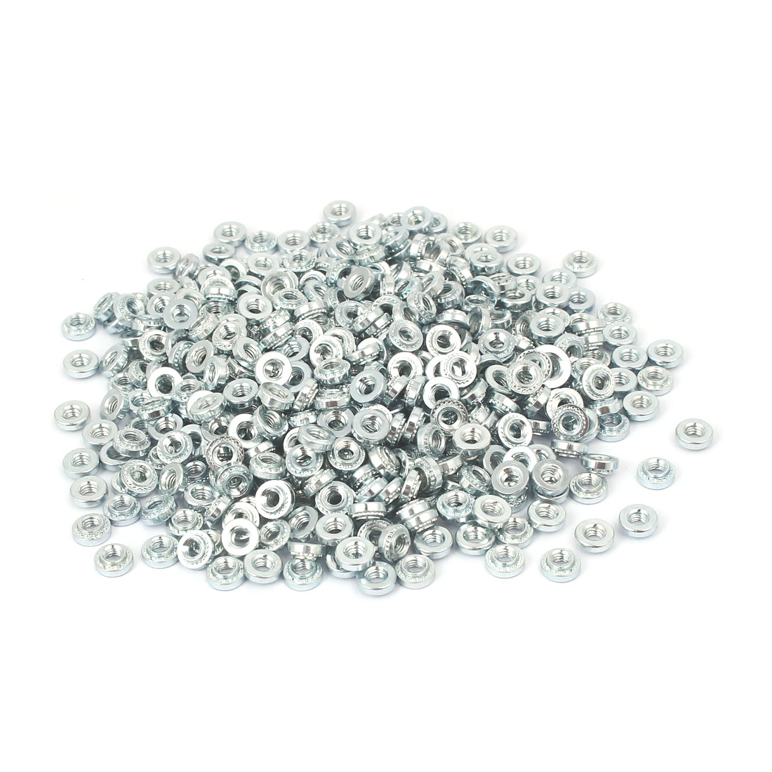 S-M3-0 Carbon Steel Self Clinching Rivet Nut Fastener 500pcs for 0.8mm Thin Plates